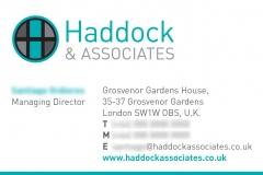Haddock business card designs